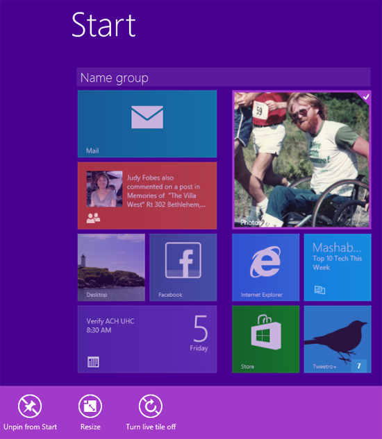 How To Change Photo Tile Live Images In Windows 81 Barbs