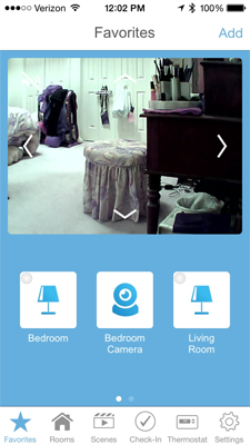 insteon iphone app