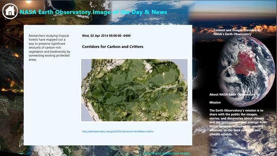 earth observe news