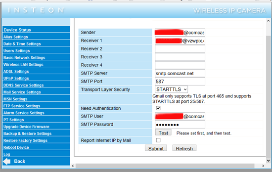 Quick Guide to Configure IP Camera Email Settings on Gmail ...
