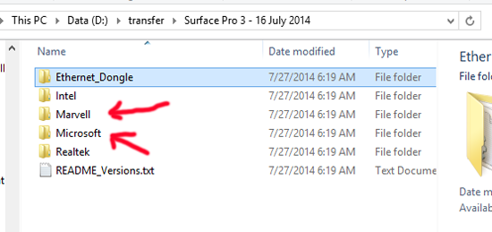 How to Manually Install the July Surface Pro 3 Firmware