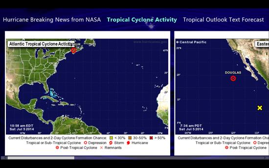 tropical cyclone activity