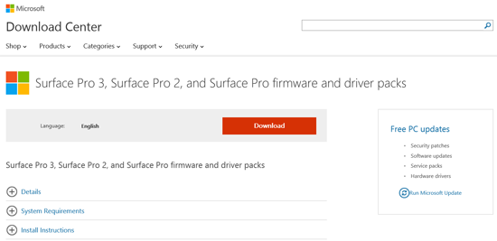 surfacedownload
